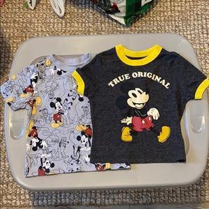 Disney Mickey Mouse tshirts size 18month